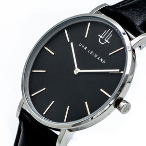 Uhr Leiwand | Modell Josefstadt | Leather