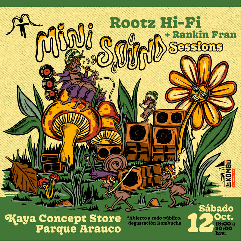 Mini Sounds Sessions Rootz Hi Fi + Rankin Fran