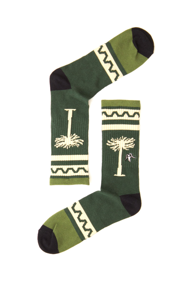 SOCKS TREE GREEN ALL