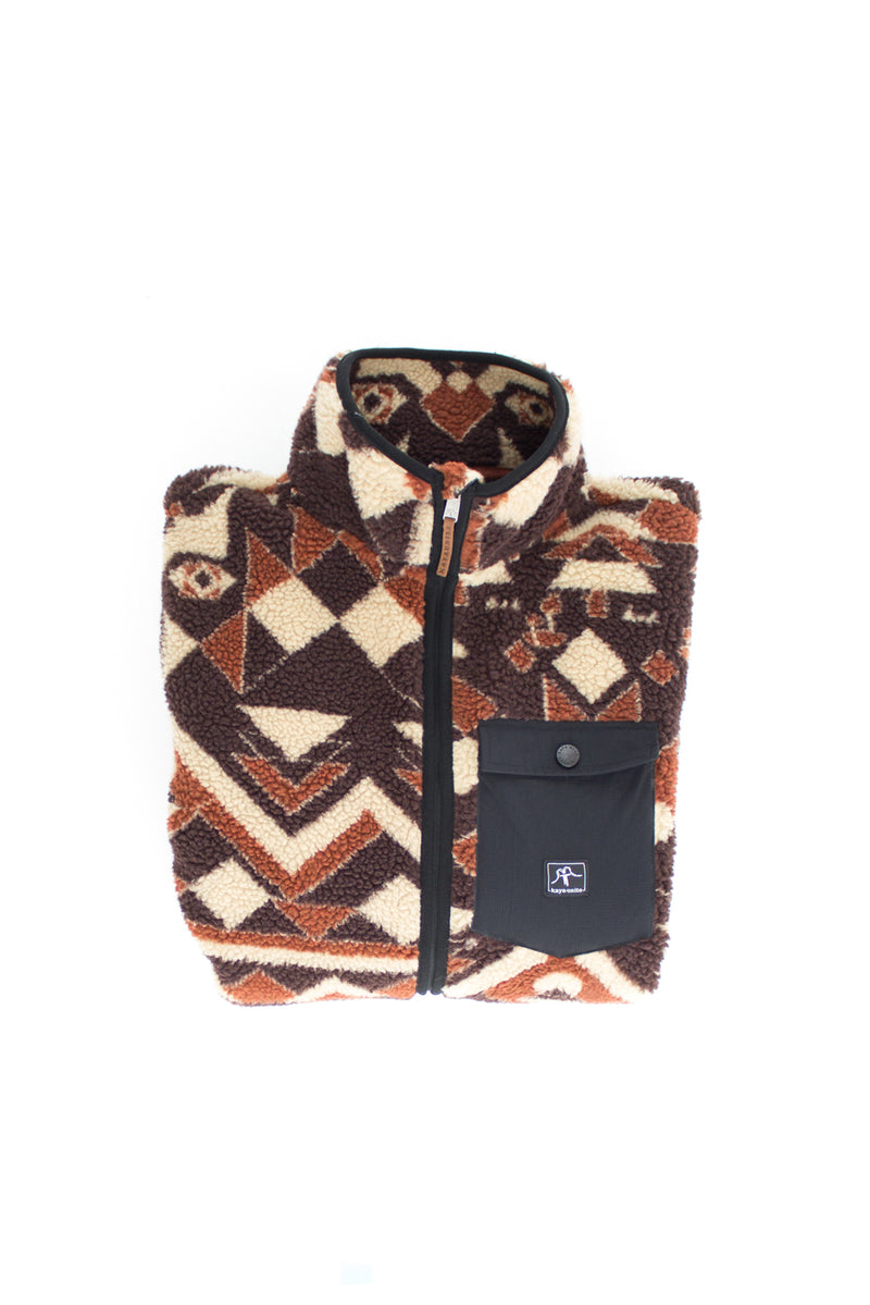 FLEECE SHERPA DAILY GEO CALIDO