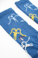 SOCKS LOGO SERIE BLUE ALL