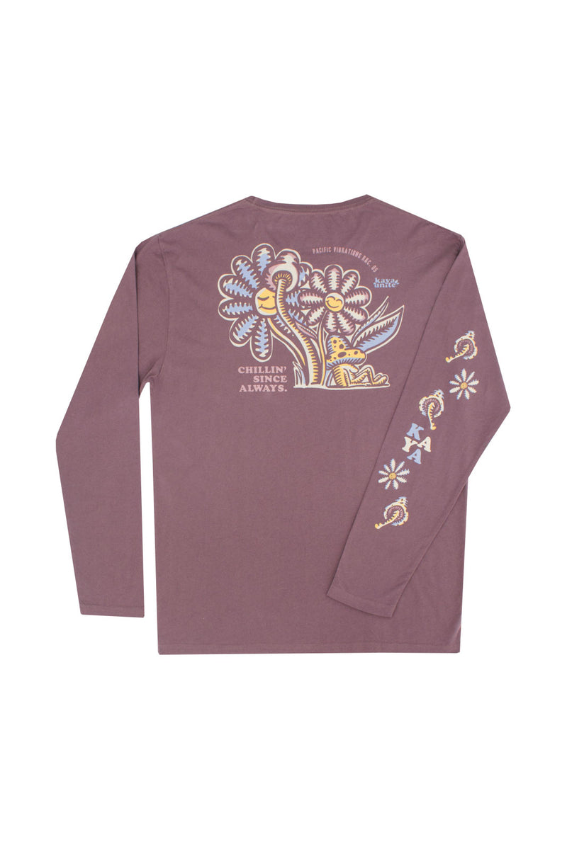 Tshirt Long Sleeve Nap Plum