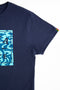 TSHIRT STAMP BLUE