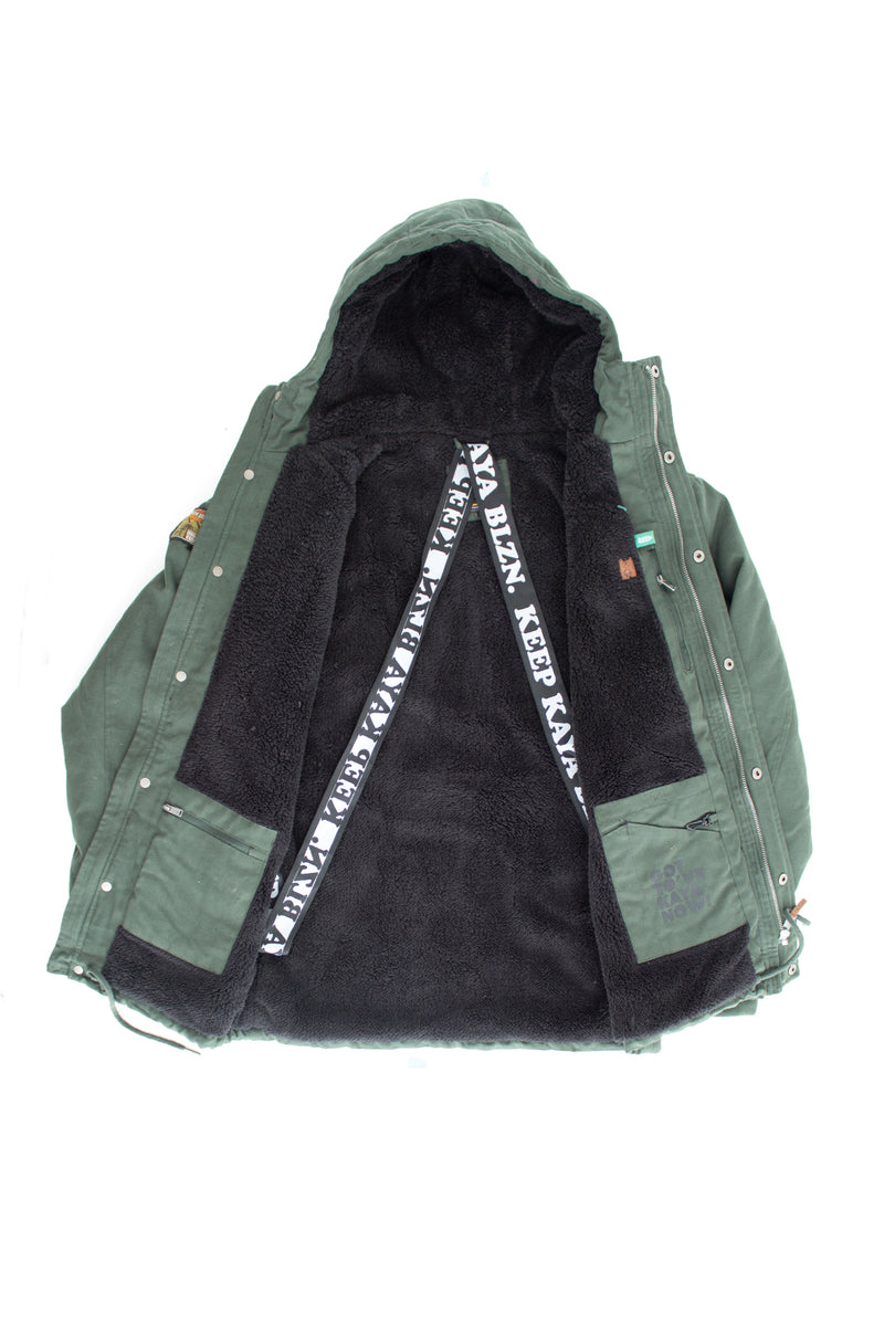 JACKET TRIBE OLIVE GREEN