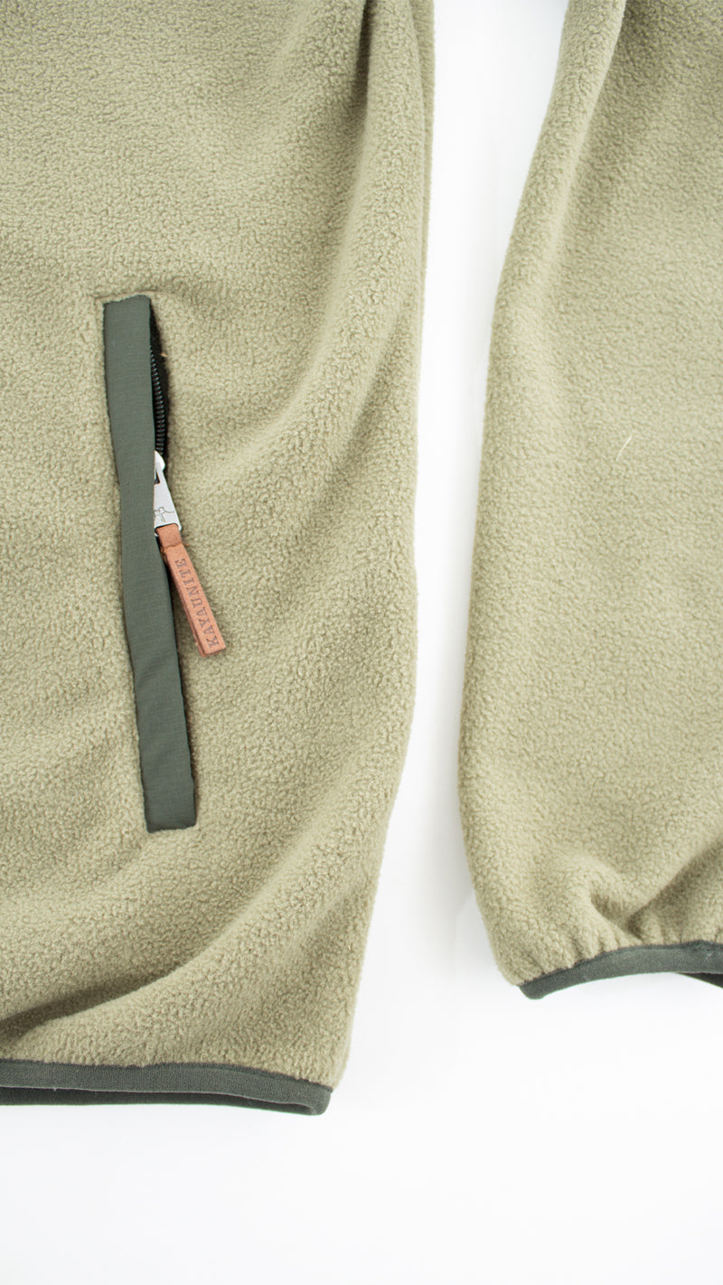 FLEECE DAILY FLEECE OLIVE GREEN