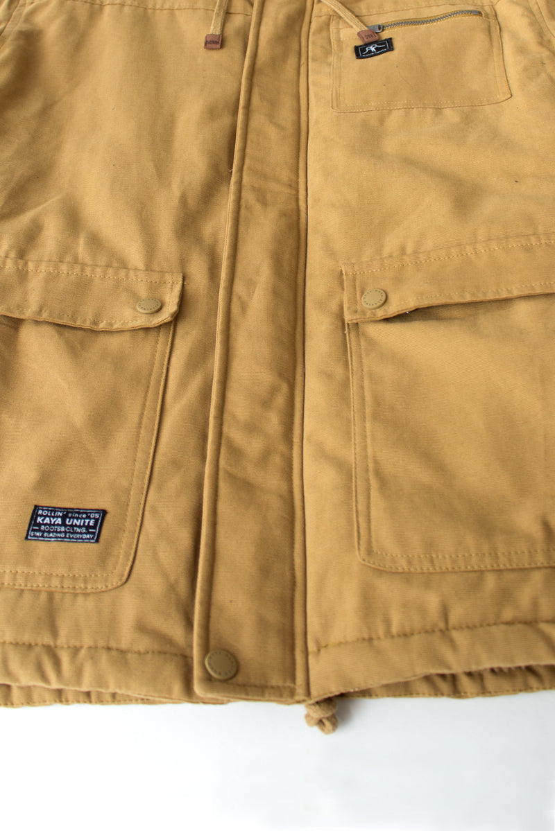 JACKET TRIBE CAMEL