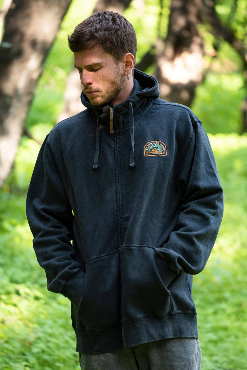 Full Zip Calling Black