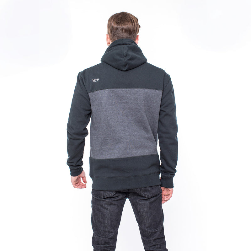 FULL ZIP STRIPES STONE