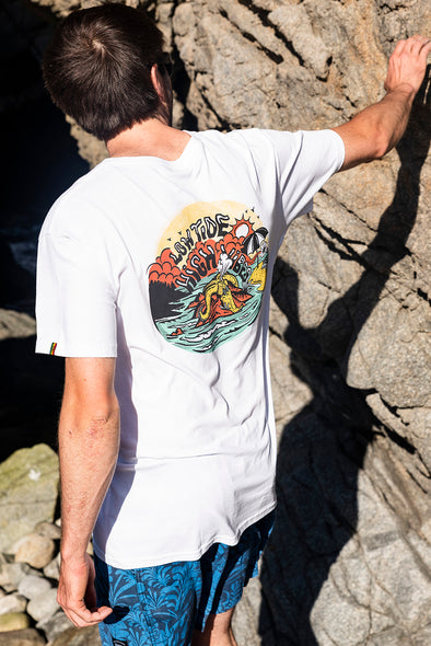 TSHIRT LOW TIDE WHITE