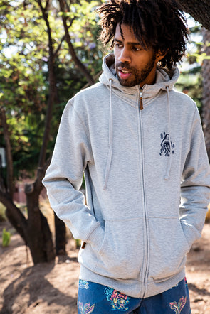 HOODIE CHILLED GREY