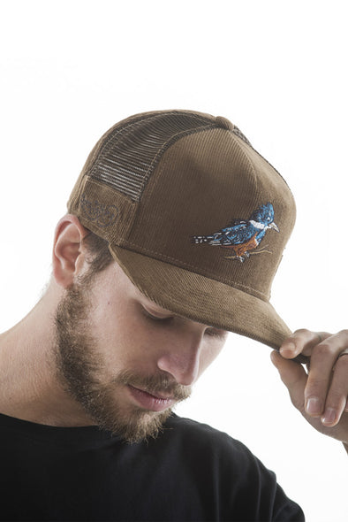 CAPS TRUCKER FISHER BROWN