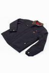 JACKET TRACKER COAT BLACK