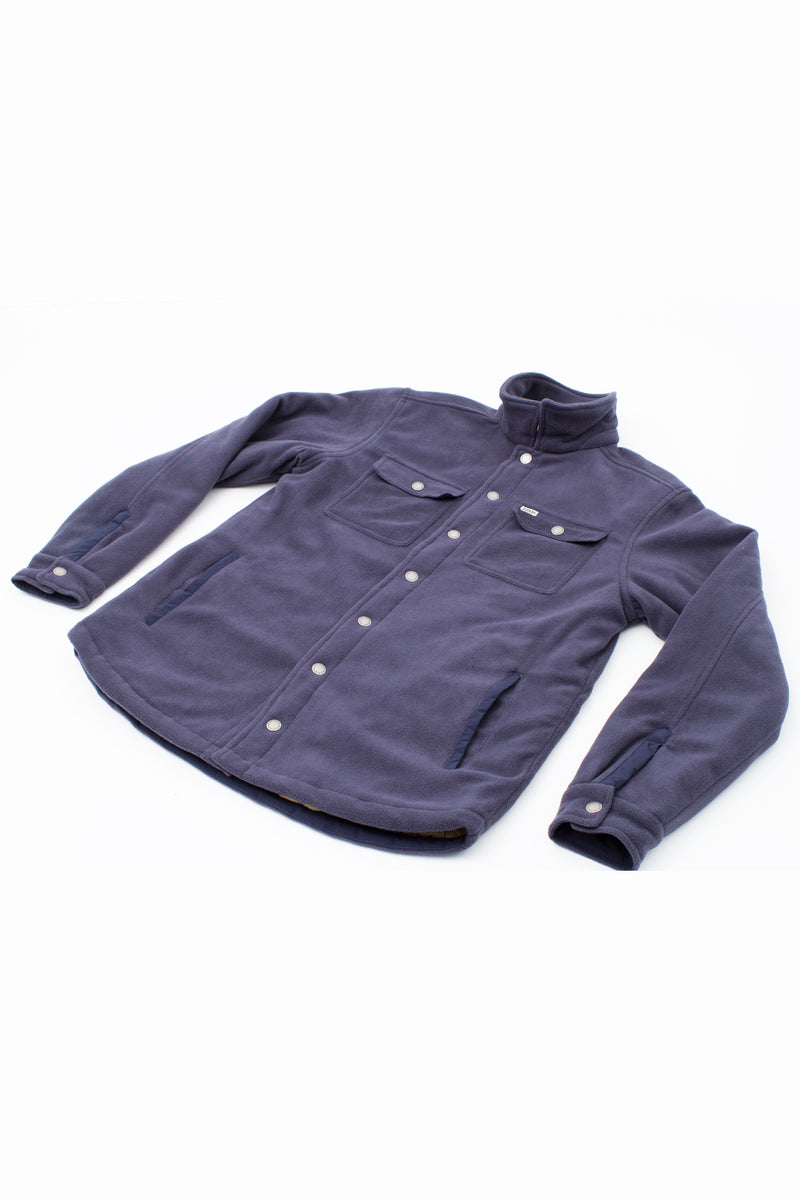 POLAR JACKET BISON BLUE