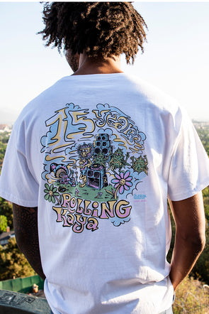 TSHIRT 2019 WHITE - 15 YEARS