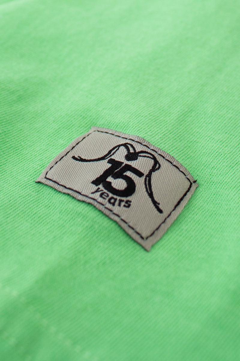 TSHIRT 2005 LIGHT GREEN - 15 YEARS