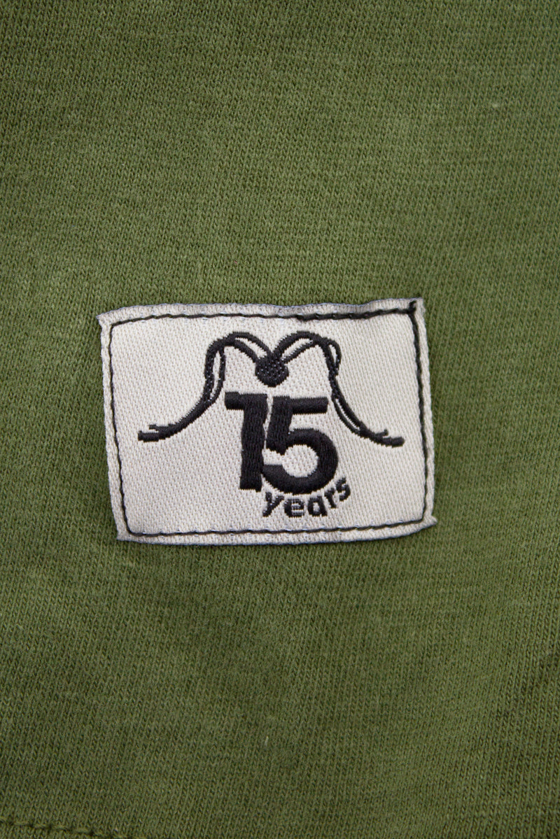 TSHIRT 2009 MILITGREEN - 15 YEARS