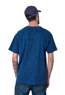 TSHIRT NATIVE AZUL