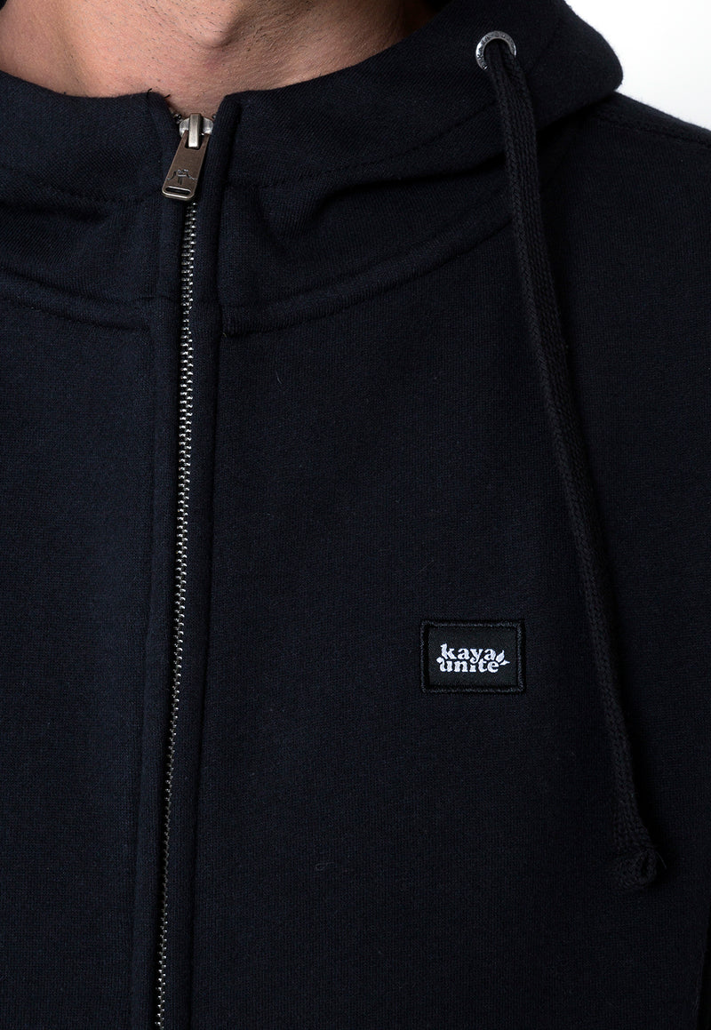 FULL ZIP ALLDAY NEGRO