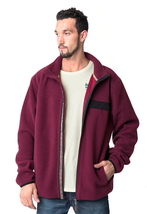 POLAR CREW MEN NECK CLASSIC BORDO
