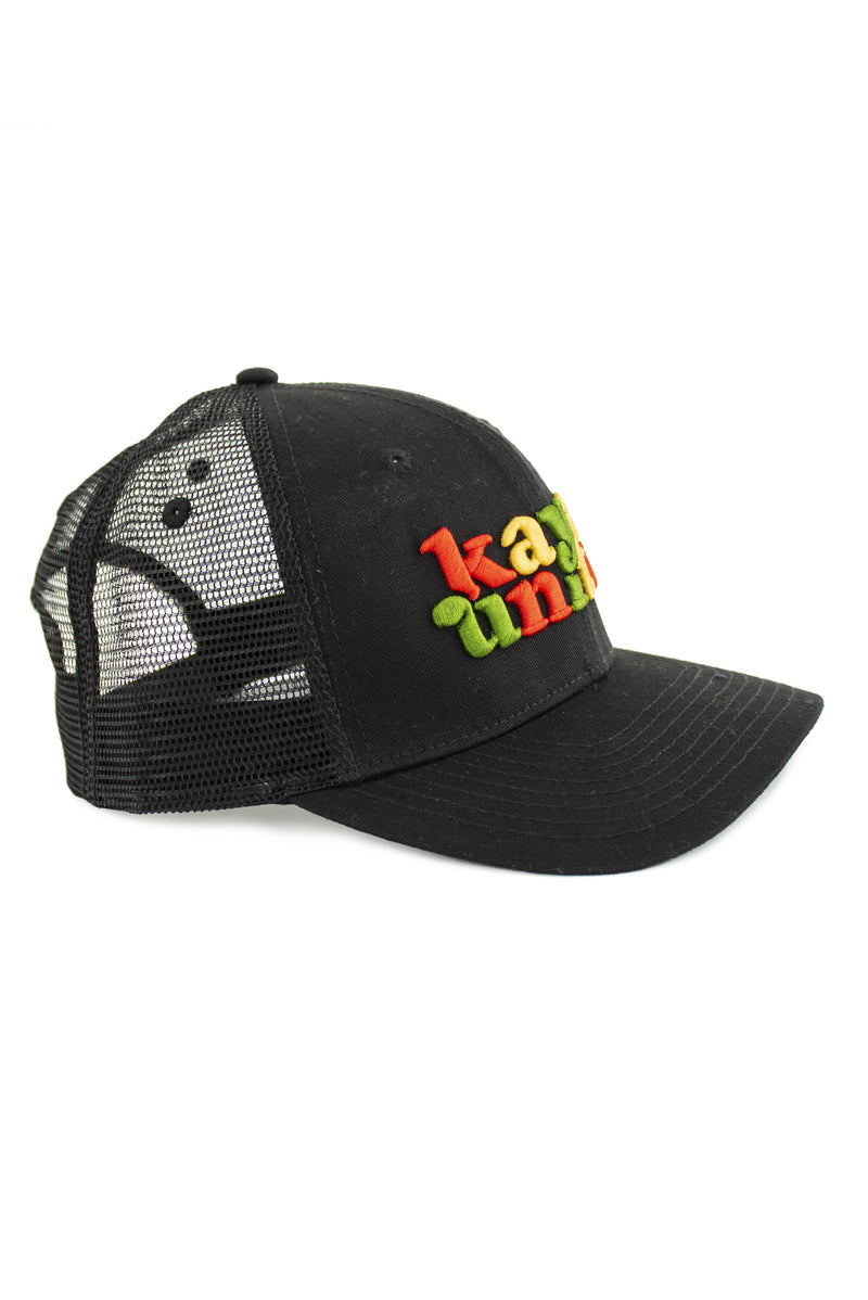 CAPS RASTA BLACK