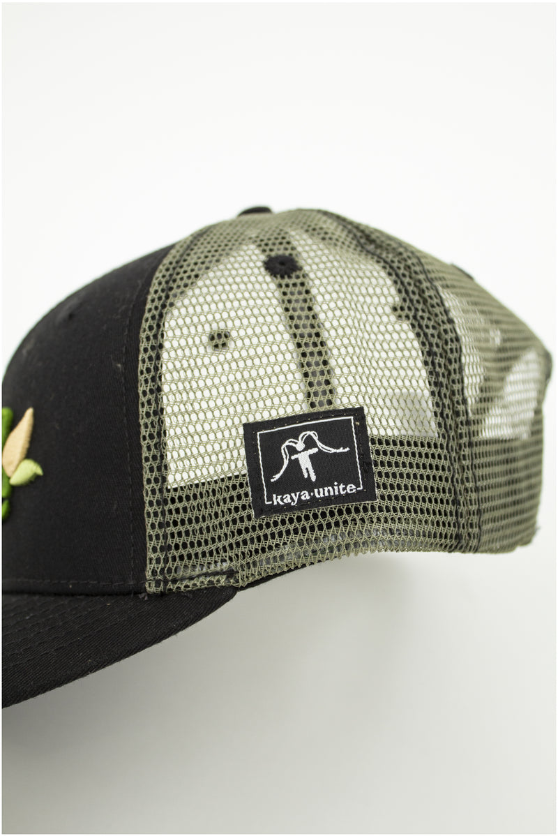 CAPS EARTH BLACK/GREEN