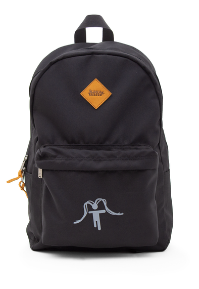 BACKPACK SOLID LOGO BLACK