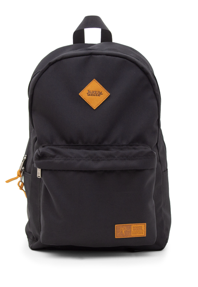 BACKPACK SOLID BLACK ALL