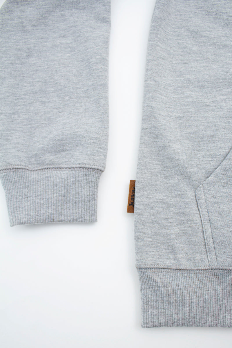 FULL ZIP CHILLED GREY