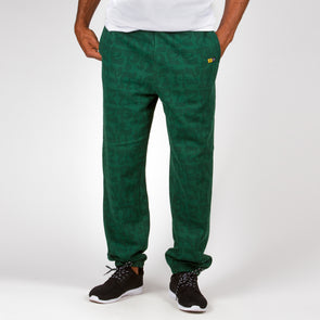 SWEATPANTS PATTERN GREEN