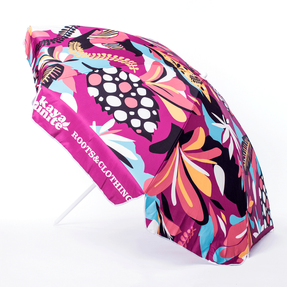 BEACH UMBRELLA PATTERN PINK