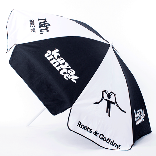 BEACH UMBRELLA LOGO BLACK