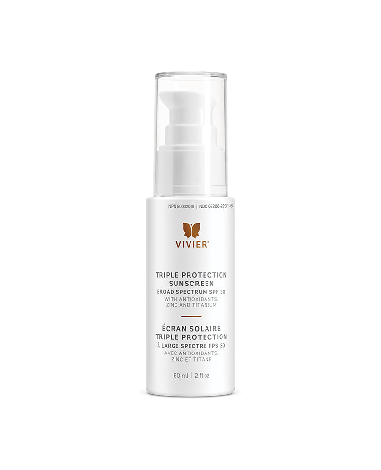 Vivier Triple Protection Sunscreen Broad Spectrum SPF 30