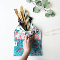 Travel Utensil Wrap Sets