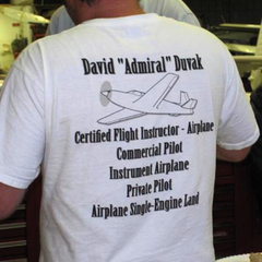 Customer photo. Windtee aviation t-shirts and custom graphics. 17