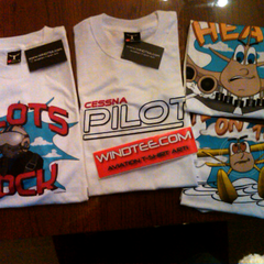 Customer photo. Windtee aviation t-shirts and custom graphics. 32