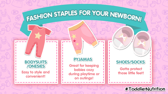 3 Fashion Staples for your Newborn!