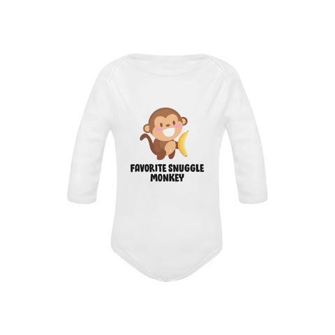 Image of Snuggle Monkey Organic Onesie by Toddler Inc