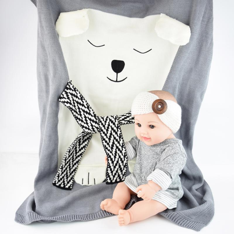 Comfy Wool Swaddle Blanket