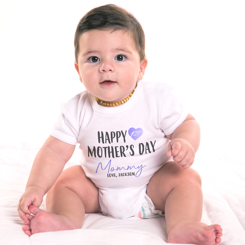 Image of Customized Mother's Day Organic Onesie by Toddler Inc