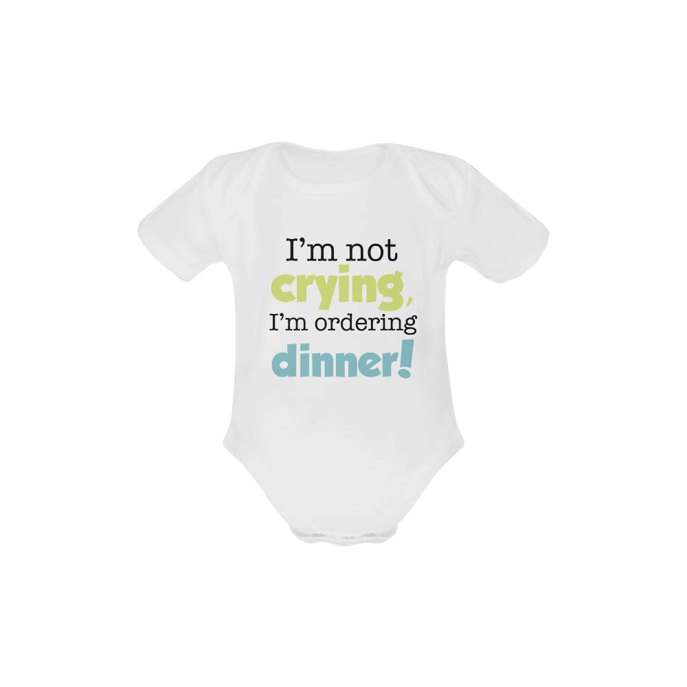 I'm Not Crying Organic Onesie by Toddler Inc