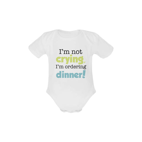 Image of I'm Not Crying Organic Onesie by Toddler Inc