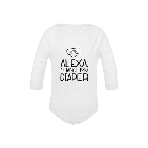 Image of Alexa, Change My Diaper Onesie by Toddler Inc
