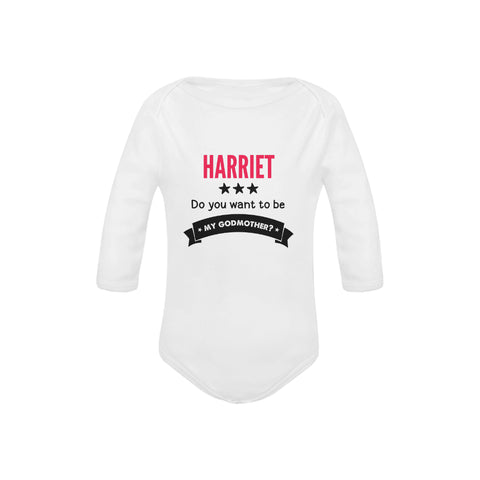 Image of Personalized Godmother Organic Onesie by Toddler Inc