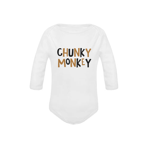 Image of Chunky Monkey Organic Onesie by Toddler Inc