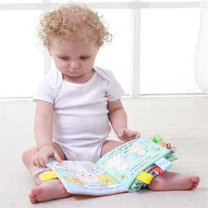 Educational Animal Cloth Book