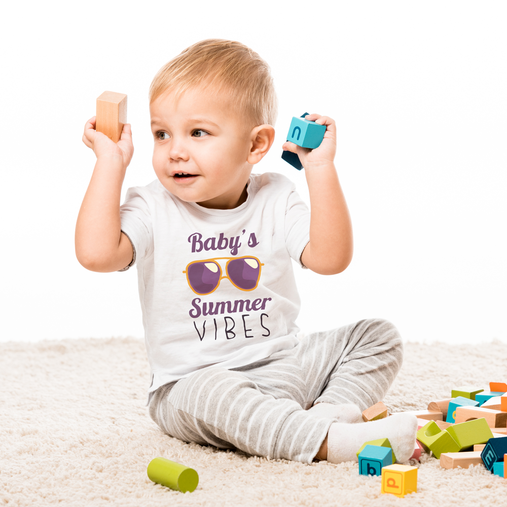 Baby's Summer Vibes Tee by Toddler Inc