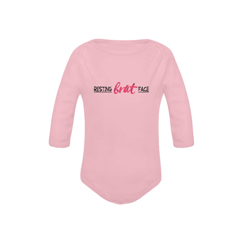 Image of Resting Brat Face Onesie by Toddler Inc