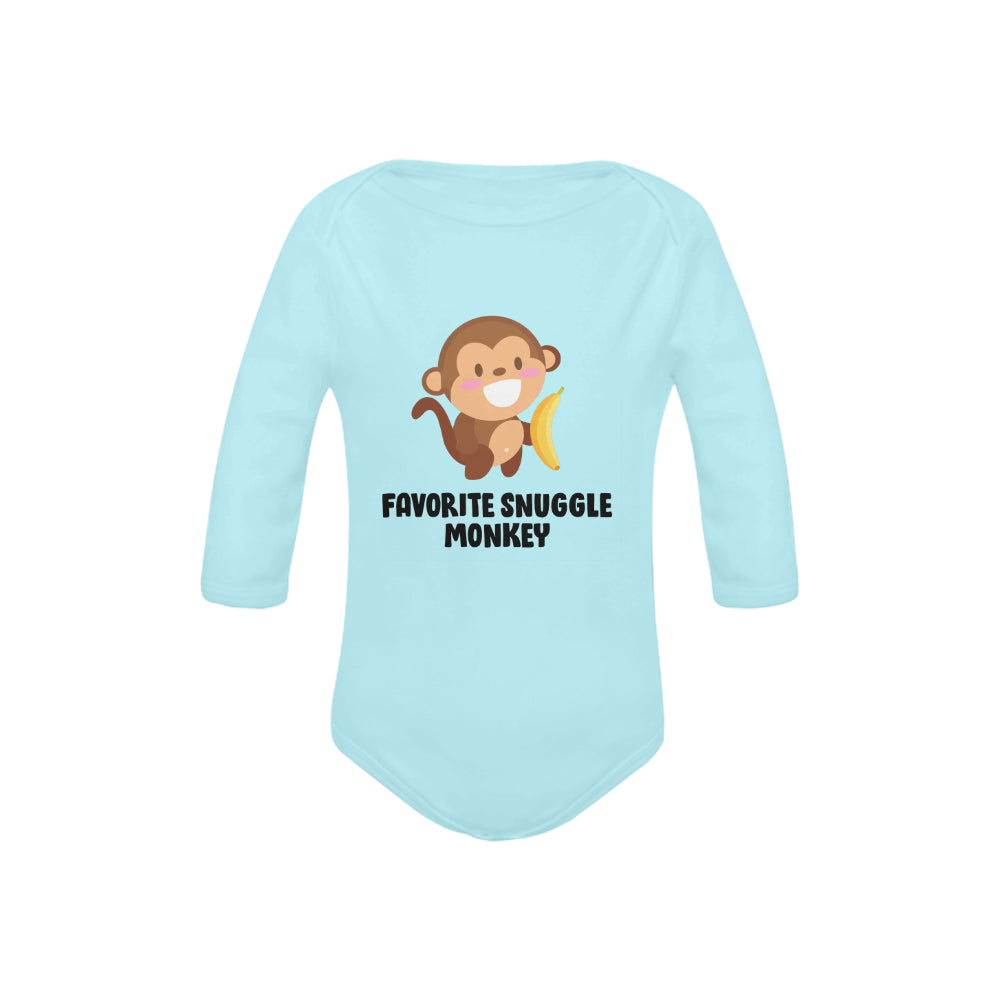 Snuggle Monkey Organic Onesie by Toddler Inc