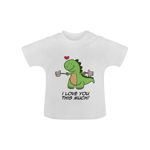 Image of I Love You Baby Tee by Toddler Inc