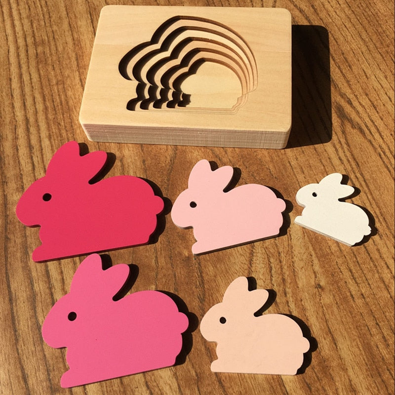 Educational 3D Animal Puzzle